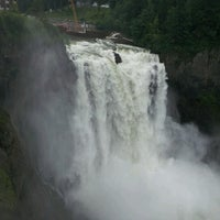 Photo taken at Snoqualmie Falls by Greg B. on 6/14/2012
