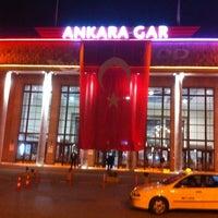 Photo taken at Ankara Garı by Umut Fikret G. on 10/13/2011