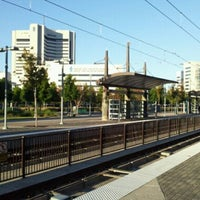 Photo taken at Baylor Medical Center Station (DART Rail) by Mike D. on 10/2/2011