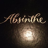 Photo taken at Absinthe Brasserie & Bar by Cory O. on 4/26/2012