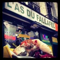 Photo taken at L'As du Fallafel by John Pepper on 6/26/2012