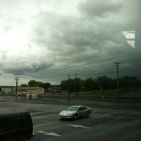 Photo taken at Megabus stop by Kim C. on 6/4/2012