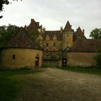 Photo taken at Château de Lanquais by Alicia J. on 5/27/2012