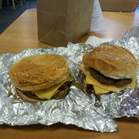 Photo taken at Five Guys by Kevin K. on 1/17/2012