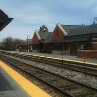 Photo taken at Metra - Glenview by Tim D. on 5/2/2011
