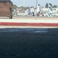 Photo taken at Culver City High School Track by Nate R. on 8/30/2011