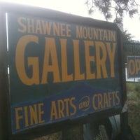Photo taken at Shawnee Mountain Gallery by Ben D. on 8/2/2011