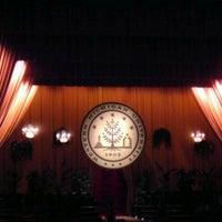 Photo taken at James W. Miller Auditorium by Anis D. on 12/17/2011