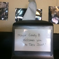 Photo taken at Taco Joint by Brad M. on 10/22/2011