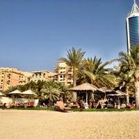 Photo taken at Le Méridien Mina Seyahi Beach Resort & Marina by Nada J. on 4/27/2012