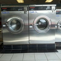 Photo taken at Giant Wash Coin Laundry by Stacey B. on 3/27/2012