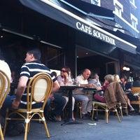 Photo taken at Café Souvenir by Pierre-Luc B. on 7/10/2012