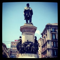 Photo taken at Napoli Centrale Railway Station (INP) by William Lye Wei Wern on 7/15/2012