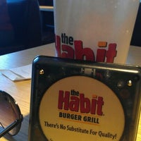 Photo taken at The Habit Burger Grill by Brendan P. on 1/28/2012