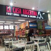 Photo taken at La Casa Argentina Fast Grill by Jan Č. on 5/9/2012