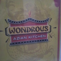 Photo taken at Wondrous Azian Kitchen by Des M. on 8/16/2012