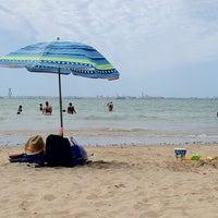 Photo taken at Playa de Valdelagrana by Aviejo00 on 6/17/2012