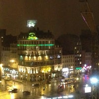 Photo taken at Hilton Brussels City by Phil N. on 3/5/2012