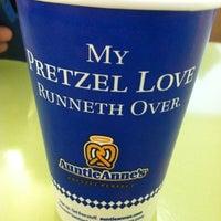 Photo taken at Wetzel's Pretzels by Cam C. on 8/1/2012