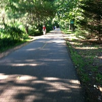 Photo taken at Capital Crescent Trail - Bethesda by Ari W. on 6/25/2012