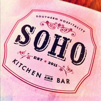 Photo taken at SOHO Kitchen & Bar by Gregory W. on 8/19/2012