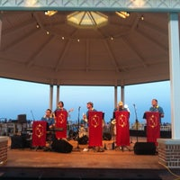 Photo taken at Rehoboth Beach Bandstand by Gar G. on 6/24/2012