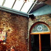 Photo taken at Cupping Room Cafe by Andrew M. on 5/7/2012