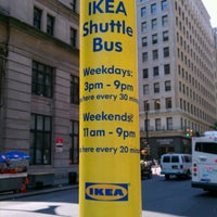 Photo taken at IKEA Borough Hall Shuttle by Sean M. on 7/4/2012