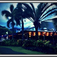 Photo taken at Hanalei Dolphin Restaurant by Tina D. on 8/4/2012