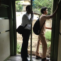 Photo taken at Chembur Railway Station by Chaitanya C. on 6/19/2012