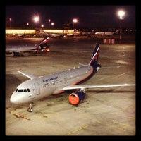 Photo taken at Terminal E by Artem K. on 4/25/2012