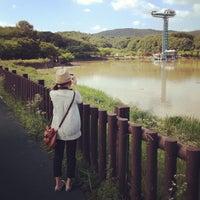 Photo taken at Yuldong Park by Jungyeop K. on 7/20/2012