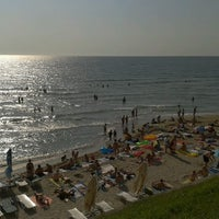 Photo taken at Plaja Neptun by Andrei A. on 8/24/2012