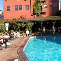 Photo taken at Hotel Figueroa by Agathe F. on 8/7/2012