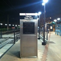 Photo taken at NJT - Liberty State Park Light Rail Station by Philip M. on 4/9/2012