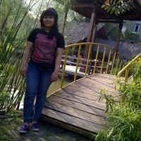 Photo taken at Saung Talaga by Latifah N. on 6/14/2012
