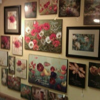 Photo taken at Blue Gate Restaurant & Bakery by Dan M. on 7/21/2012