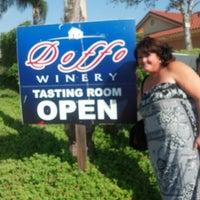 Photo taken at Doffo Winery by Brett B. on 8/19/2012