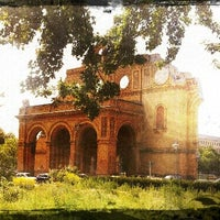 Photo taken at S Anhalter Bahnhof by Jay D. on 7/31/2012