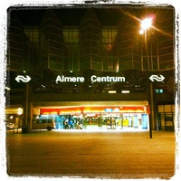 Photo taken at Station Almere Centrum by Gertjan O. on 7/30/2012