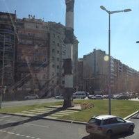 Photo taken at Avinguda de Josep Tarradellas by Aleksandra B. on 3/2/2012
