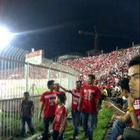 Photo taken at Stadium Sultan Muhammad IV by Puer Naka Z. on 8/25/2012