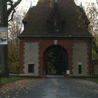 Photo taken at Biltmore Estate Main Gate by MaryBeth S. on 10/29/2011