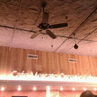 Photo taken at Cafe Mercato by Aaron F. on 2/5/2012