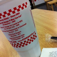 Photo taken at Five Guys by Ken P. on 7/28/2012