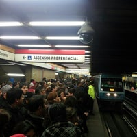 Photo taken at Metro Los Héroes by Mentecleme S. on 7/19/2012