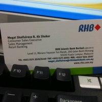 Photo taken at RHB Islamic Bank Berhad @ Menara Yayasan Tun Razak by Megat S. on 3/6/2012