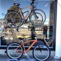 Photo taken at Renovo Hardwood Bicycles by Powen S. on 9/2/2012