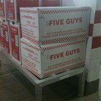 Photo taken at Five Guys by Bushido B. on 11/2/2011