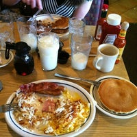 Photo taken at Pancakes R Us by Robert A. on 1/14/2012